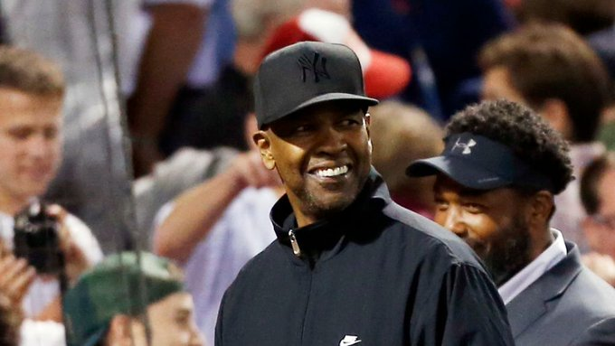 Cut4: Happy Birthday to one of the coolest Yankees fans we know, Denzel Washington!