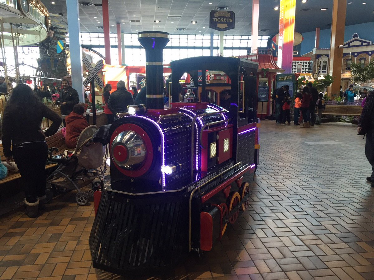 """Woodbine Centre On Twitter: """"Come Take A Train Ride Around"""