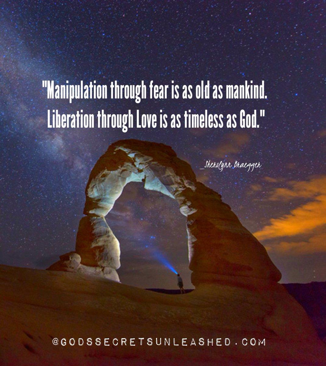 """sherolynn braegger on Twitter: """"""""Manipulation through fear is as ..."""