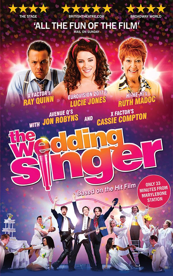 The Wedding Singer Jon Robyns Cassie Compton And 7 Others