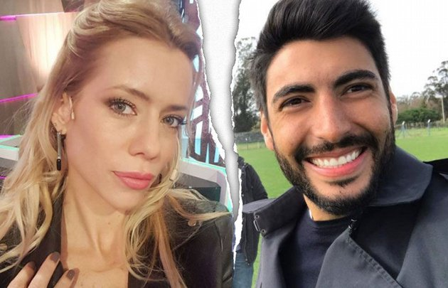 Nicole Neumann y Facundo Moyano están separados