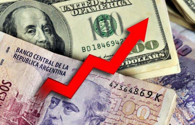 El dólar marcó un nuevo récord y cerró a $ 19,46
