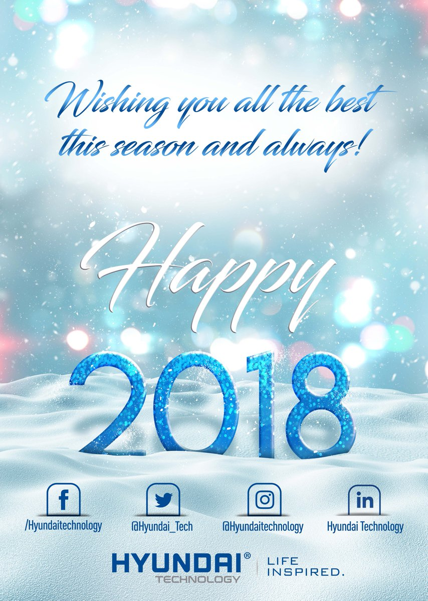 Hyundai Technology On Twitter Seasons Greetings And Best Wishes
