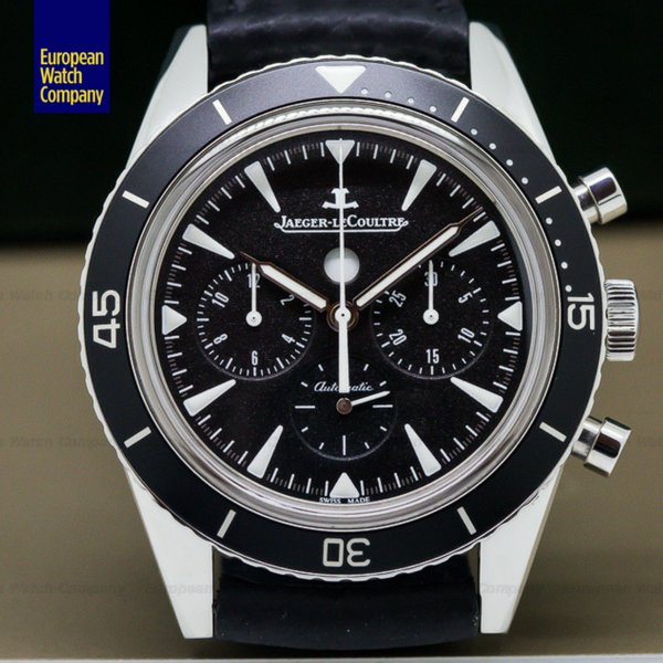 jaeger lecoultre tribute to deep sea chronograph forsale boston timepiece watches stylish horology