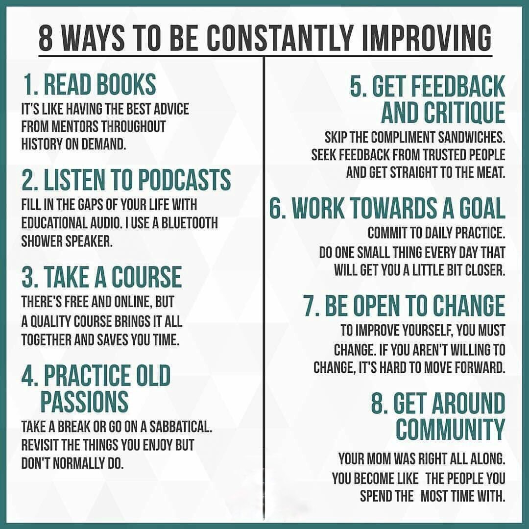 the ability to learn more and adapt faster than your competition is the only truly sustainable competitive advantage newyearsresolution