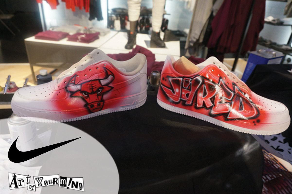 Art Of Your Mind On Twitter Woahh These Customized Air Force 1 S