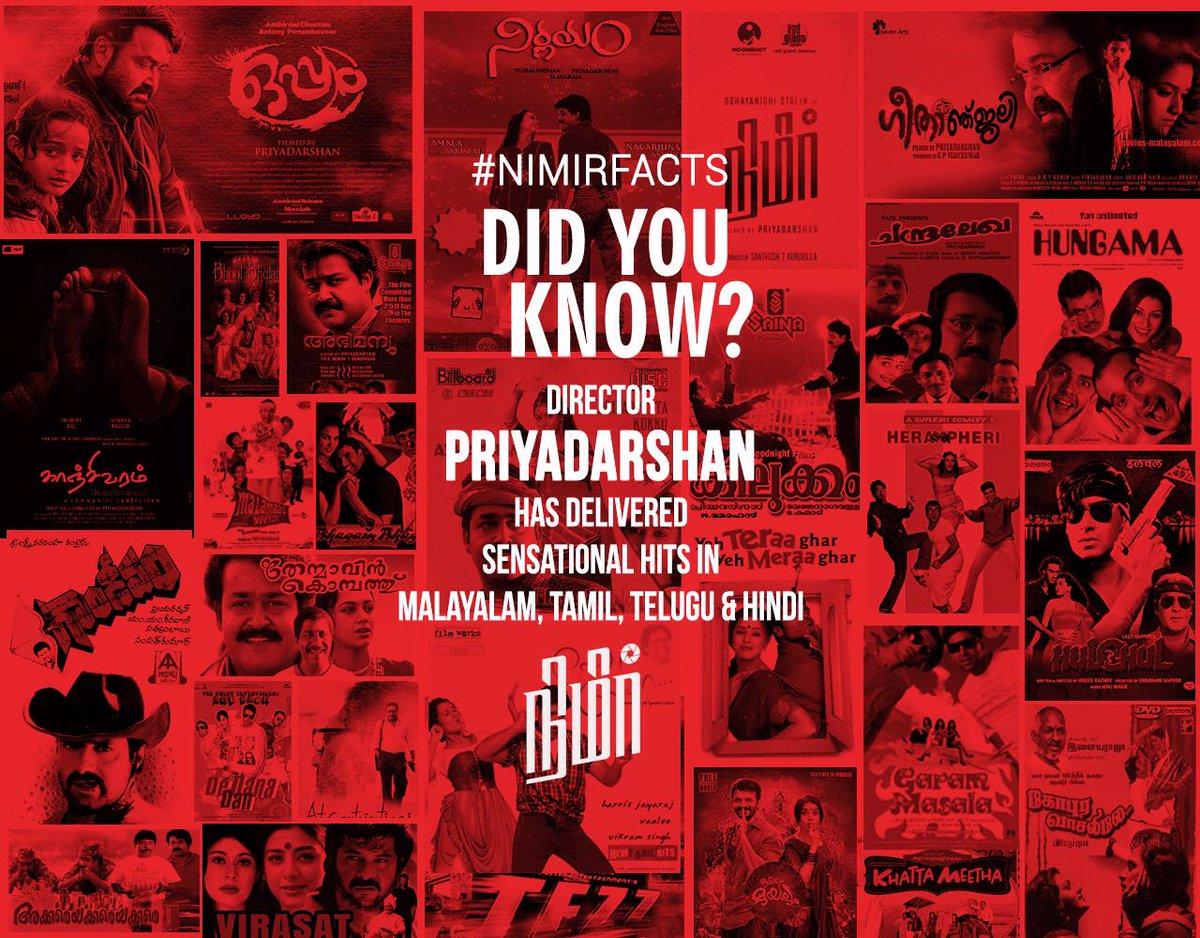 #Nimirfacts    @priyadarshandir @Udhaystalin @RedGiant_Movies @imNamitha @paro_nair @thondankani  @DarbukaSiva  @AJANEESHB  @MoonshotEnt @DoneChannel1 https://t.co/euKTMCLwFY