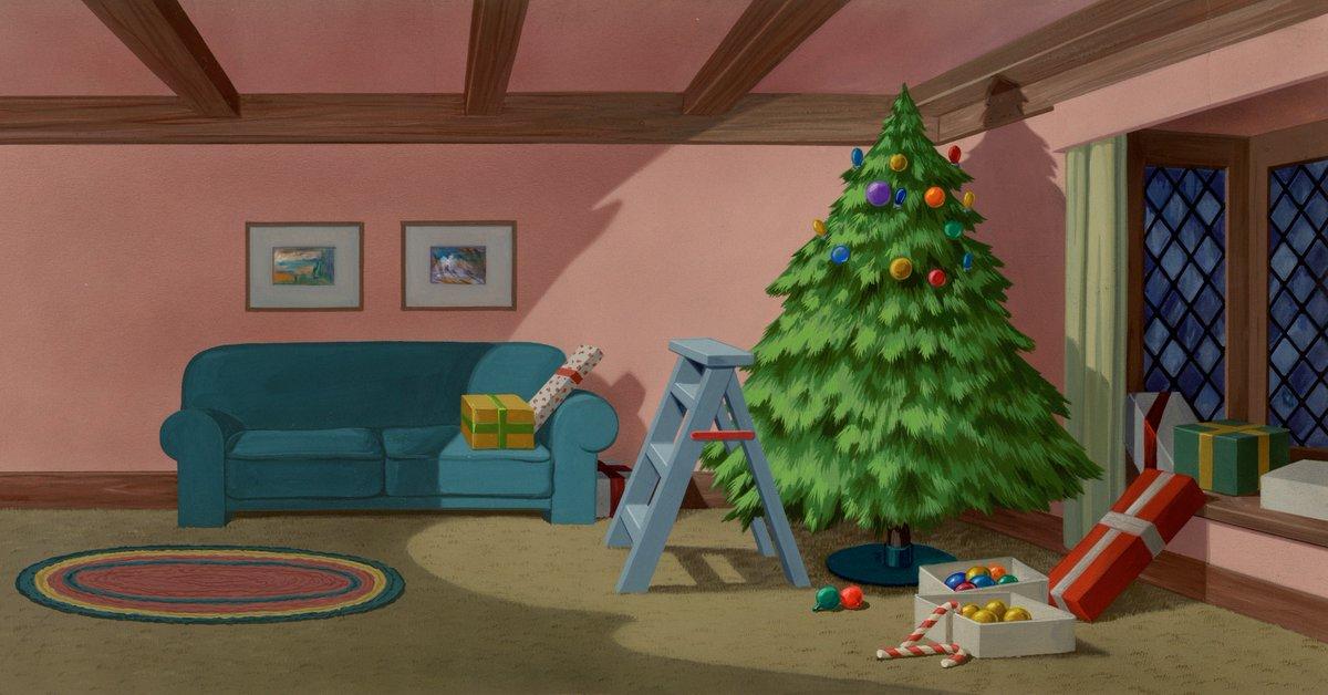 Plutos Christmas Tree.Disney Animation On Twitter 4 Pluto S Christmas Tree