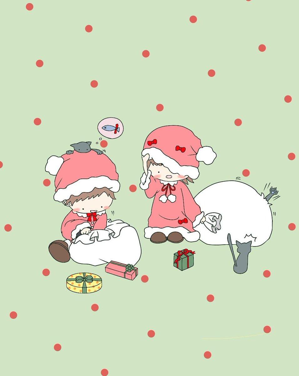 じゅき 朔 クリスマスとっくに終わったけど サンタさん クリスマス サンタさん 女の子 男の子 イラスト練習中 絵描きさんと繋がりたい T Co Gobxnh1znr
