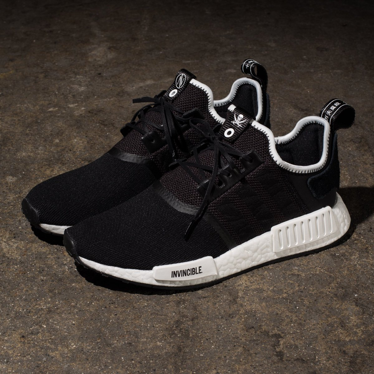 5b5d8d6e6 adidas Consortium x Invincible x Neighborhood NMD R1    Available Friday  12 29 at All Undefeated Chapter Stores and http   Undefeated.com pic.twitter.com   ...