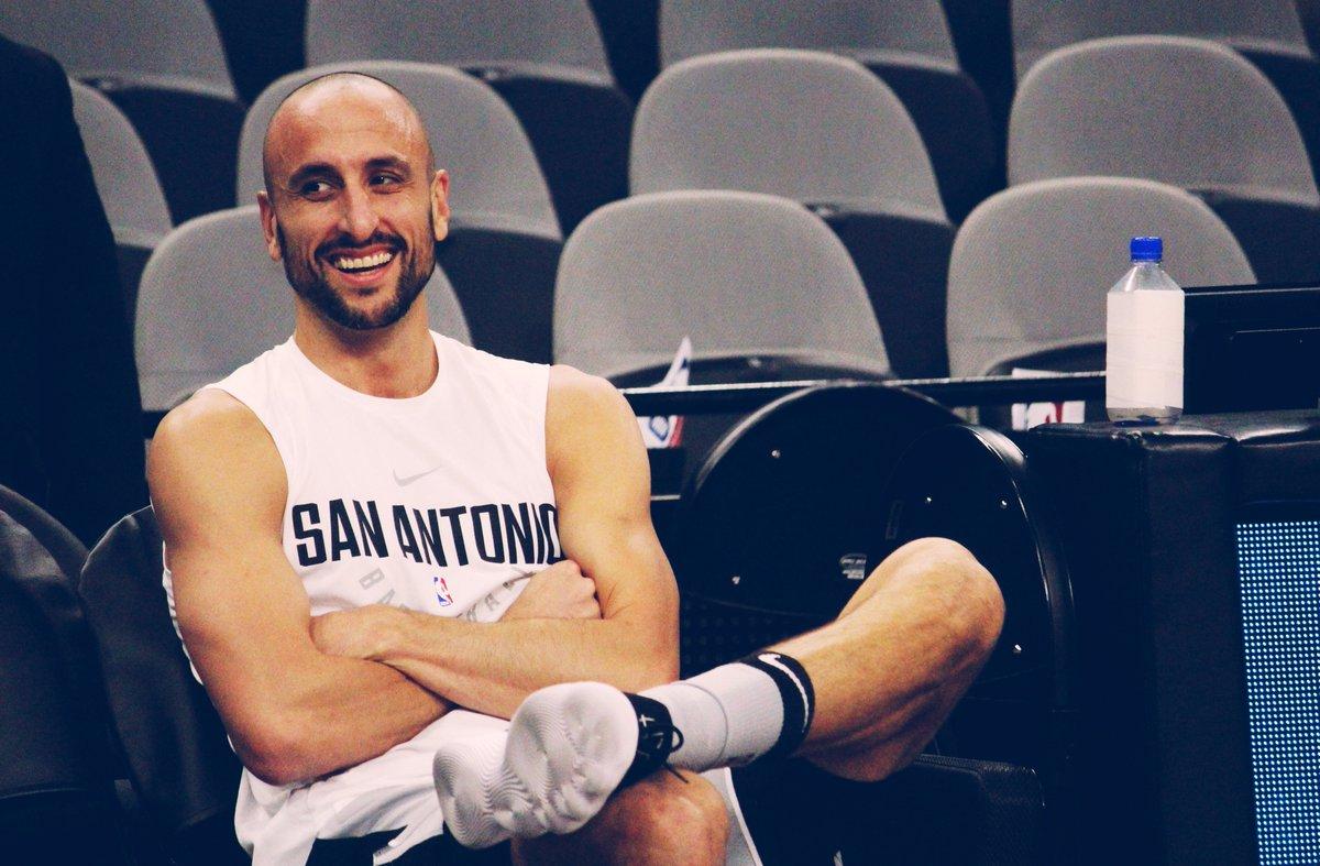 Manu Ginobili #NBAVOTE  (Retweets = Votes)
