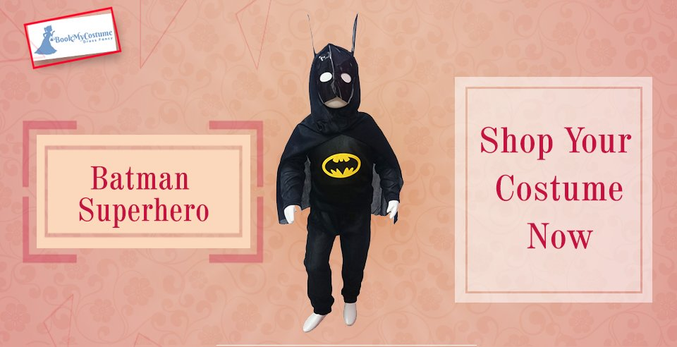 BookMyCostume on Twitter  Superhero costumes for super kids. Buy or Rent Batman Superhero Kids Fancy Dress Costume from @BookMyCostume #superhero ... & BookMyCostume on Twitter: