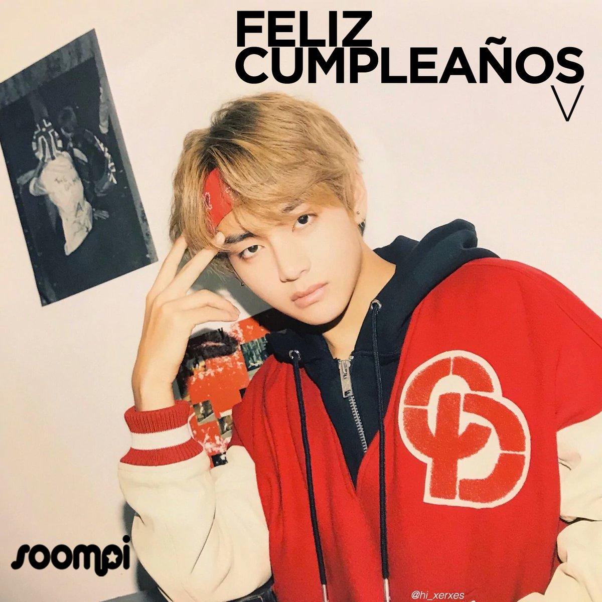 Soompi Spanish På Twitter Feliz Cumpleaños A V De Bts Happyvday Puedes Leer Más Noticias Sobre El Grupo Aquí Https T Co Ussxeij0wq