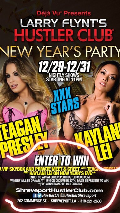 Tomorrow night me and @KaylaniLive kick off our #newyears celebration at @HustlerLA https://t.co/grD