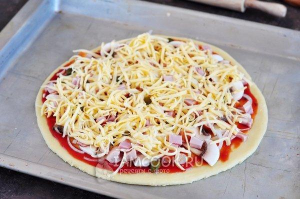 Тесто для пиццы тонкое и мягкое как в пиццерии