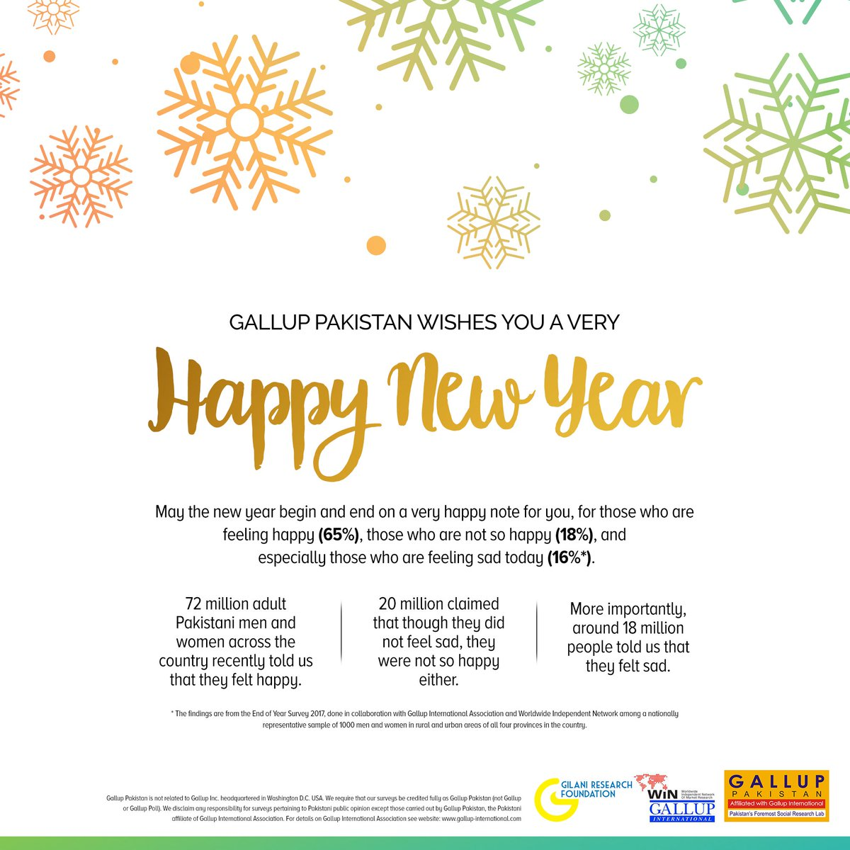 Gallup Pakistan On Twitter Happy New Year And Seasons Greetings
