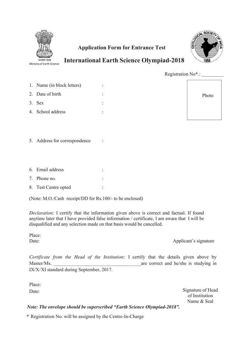 Moes goi on twitter the geological society of india is thankful moes goi on twitter the geological society of india is thankful for joining hands to conduct the entrance test for earth science olympiad 2017 ccuart Gallery