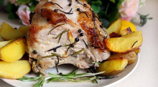 Свиная корейка без кости на сковороде рецепты