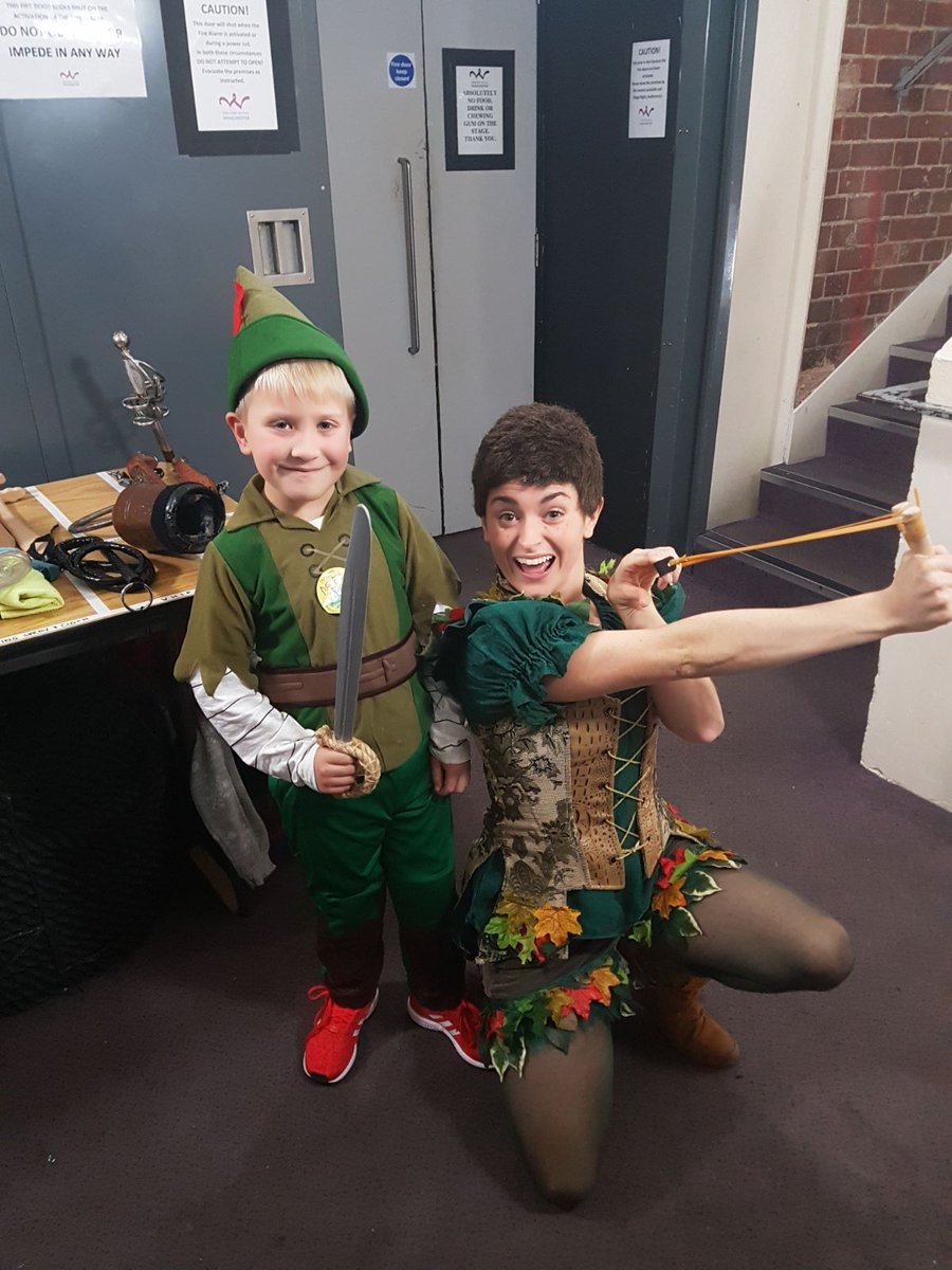 Keith butler on twitter theatreroyalwinchester peterpan to see peter pan with our very own peter alfie topped off with special meet and greet with peter pan nicholejbird thankyou for everything tonight kristyandbryce Image collections