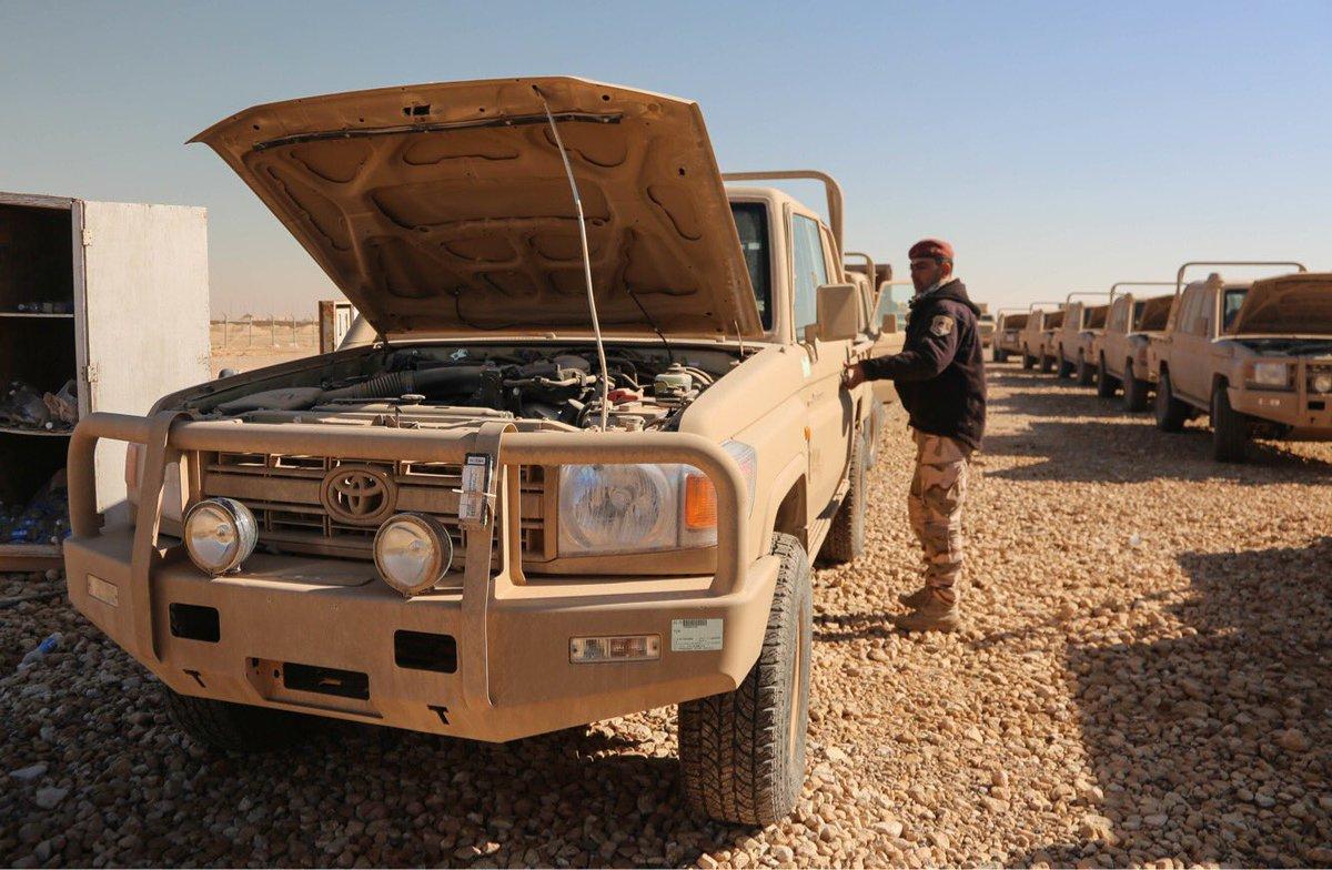 عقود عربات تويوتا لاندكروزر لصالح الجيش العراقي   DSNkfaOXUAIhVwM