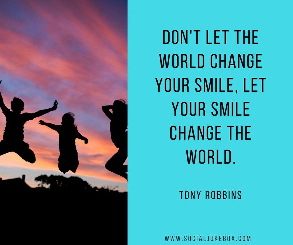 Tim Fargo On Twitter Dont Let The World Change Your Smile Let
