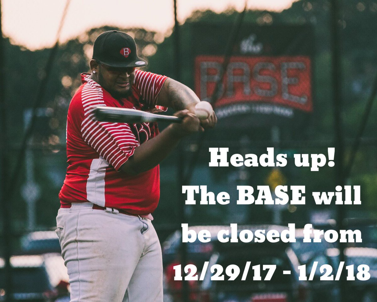 the base 11 walnut park will not be open for practice on saturday roller world will also be canceled for today