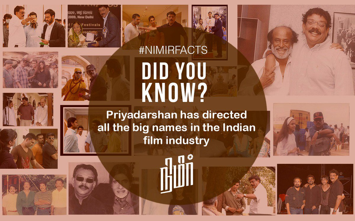 #Nimirfacts  @priyadarshandir @Udhaystalin @RedGiant_Movies @imNamitha @paro_nair @thondankani  @DarbukaSiva  @AJANEESHB  @MoonshotEnt https://t.co/vnztzeHMNw