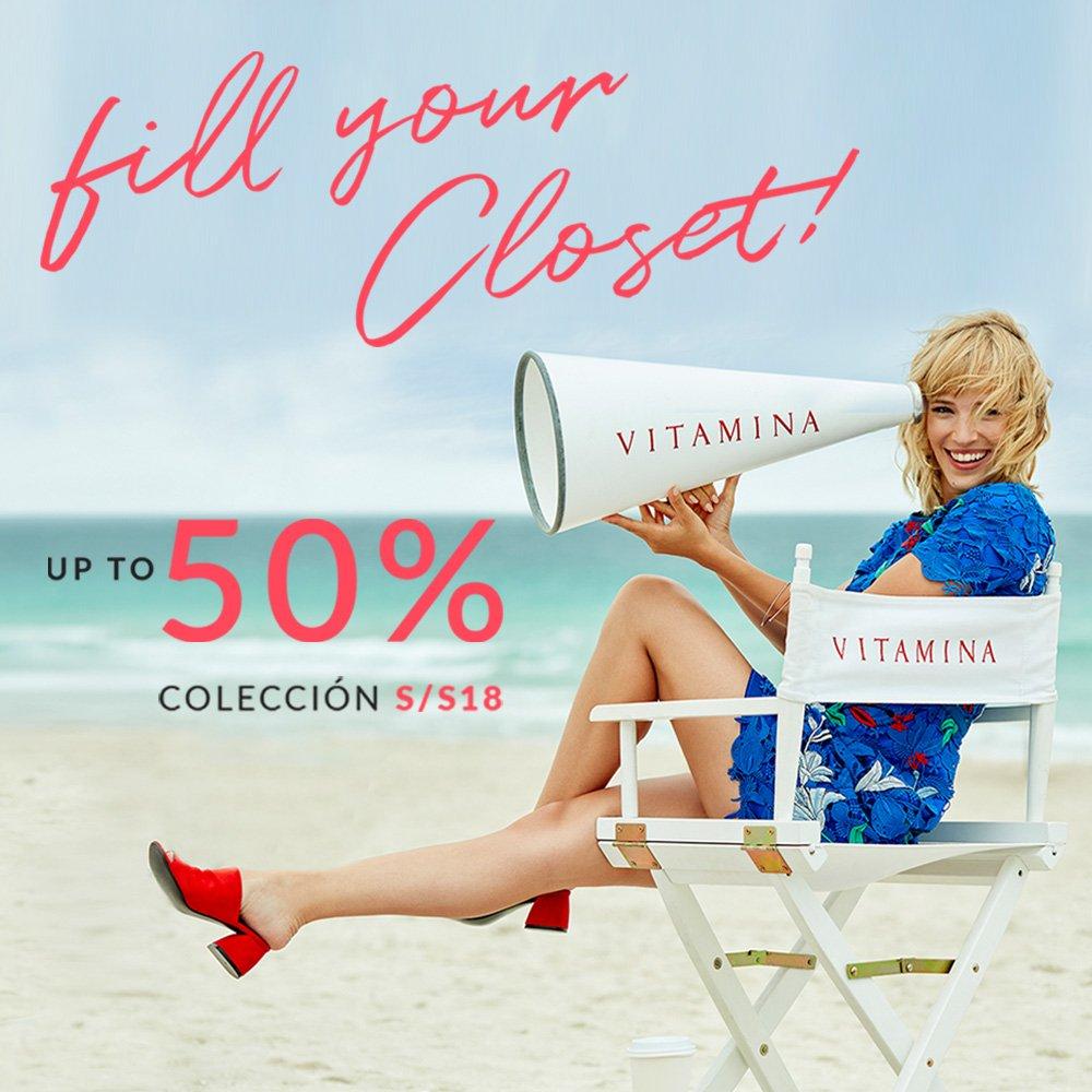 Fill Your Closet > En todos nuestros locales & Estore hasta un 50% OFF https://t.co/tHLX9ZiN7H https://t.co/rrDSYSCxgf