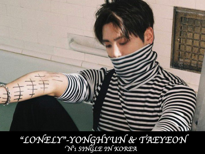 #Jonghyun's 'Lonely' with #TaeYeon is N°1 on the Gaon chart in Korea this week!👏1⃣🇰🇷❤️🌹🌟 https://t.co/B0EMG0OCiq