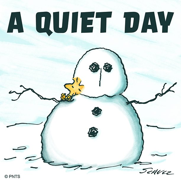 RT @Snoopy: A quiet Winter day. https://t.co/tXaURgYUxl