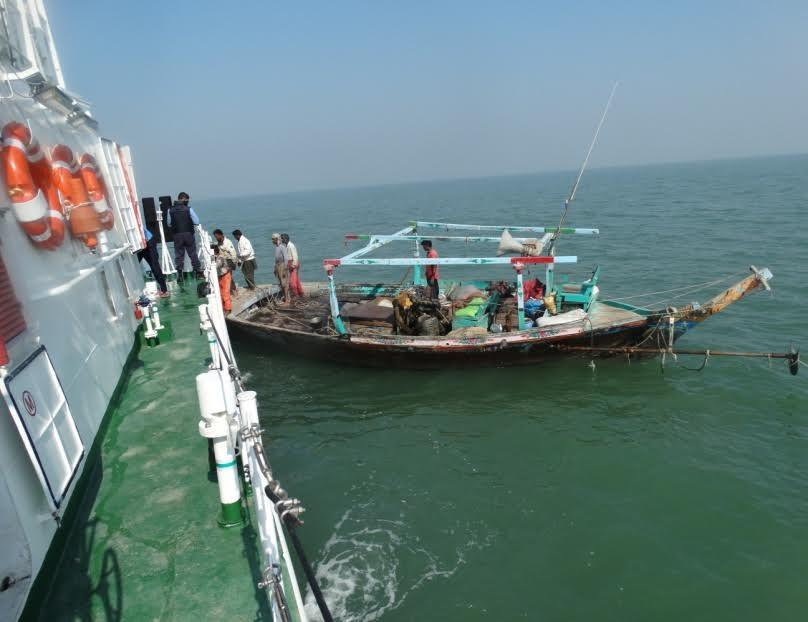 Indian Coast Guard on nabbing of Pakistani boat off Gujarat coast