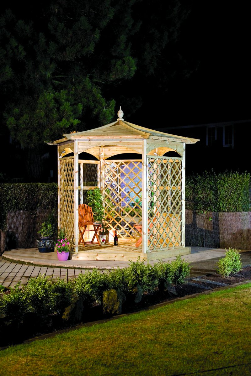 Why Not Deck Your Pergola Or Gazebo With Christmas Lights And Lanterns For A Gorgeous Garden Grotto Pic Twitter Oygwecgwiy