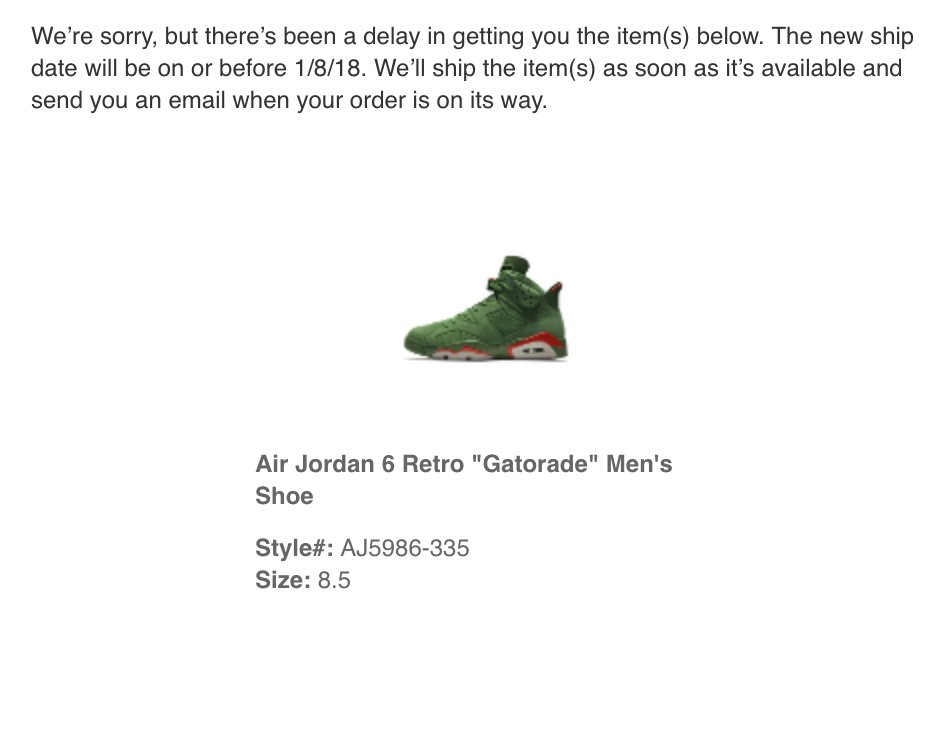 call nike store to see if they have shoes