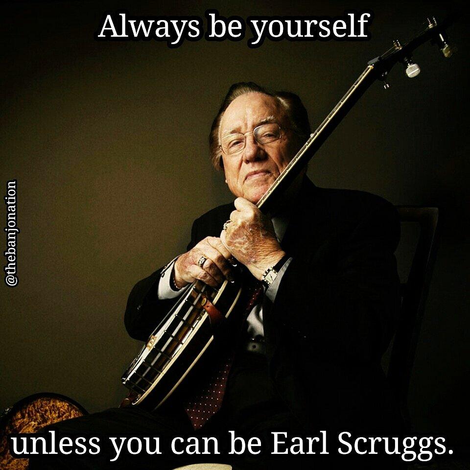 Be Earl.  #banjo #thebanjonation #banjolife #bluegrass #earlscruggs #bluegrasslife<br>http://pic.twitter.com/gWwlABYsHs