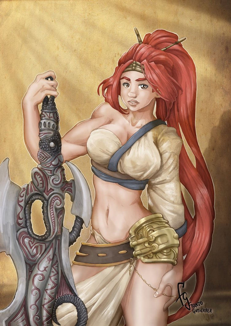 Franjogutierrez On Twitter Heavenly Sword By Franjogutierrez