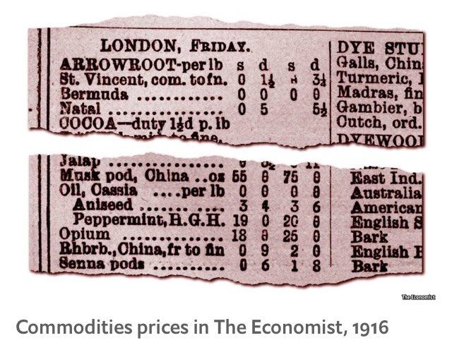 Hetan Shah على تويتر Until 1916 At Theeconomist Listed Opium