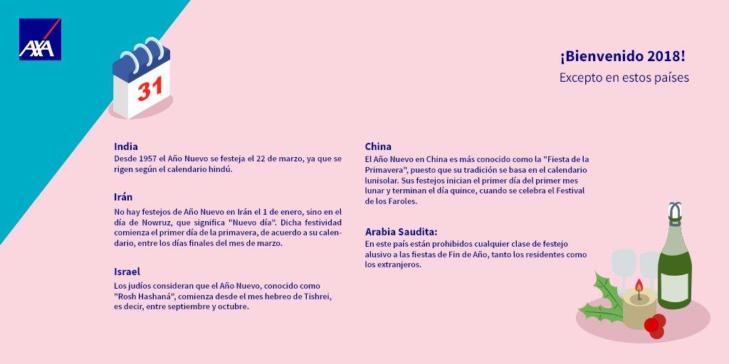 Calendario Del Ano 1957.Axa Mexico على تويتر El 1º De Enero Se Celebra La Llegada