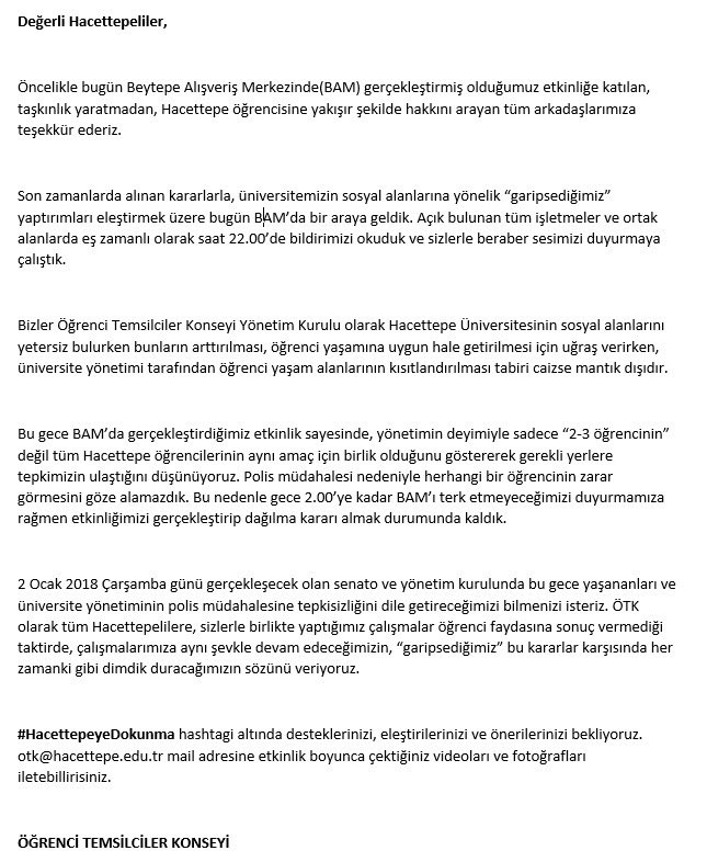 Hu öğrenci Konseyi At Hacettepekonsey Twitter