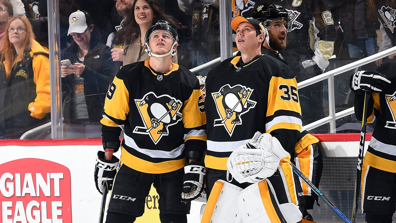 Looking up at who got the assists on the Dumoulin goal...   Spoiler: It was Guentzel and Jarry. https://t.co/vqWiMYOQHl