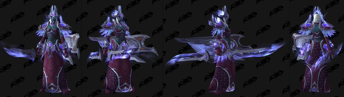 Void Elf Heritage Weapons Just saw the void elf heritage armor on a nightborne using an orb of deception and it looks. void elf heritage weapons