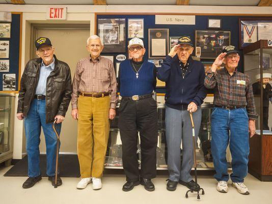 #WorldWarII #veterans share stories in #Millville  https://t.co/k61kBcuGH4 #SouthJersey #PearlHarbor