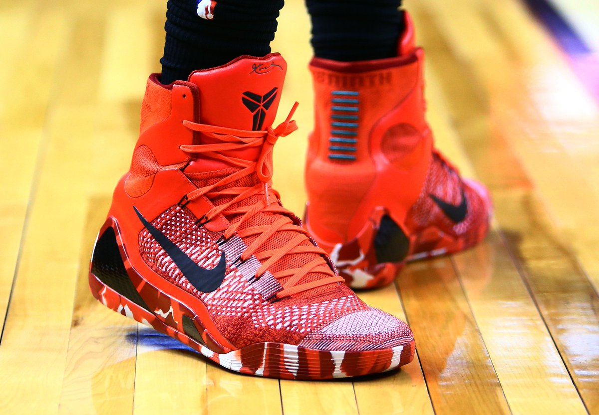 Kobe 9 Elite Christmas.B R Kicks On Twitter Demar Derozan In The Nike Kobe 9