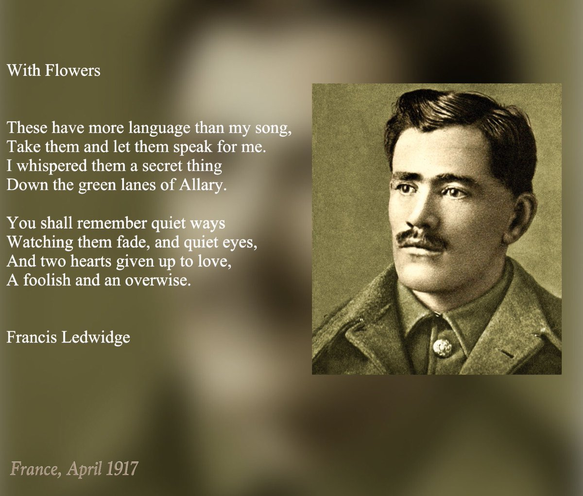 Francis Ledwidge photo, Francis Ledwidge image
