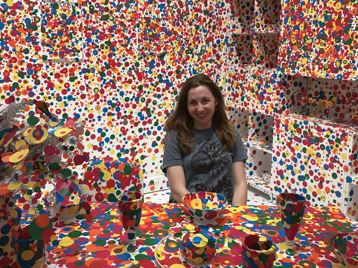 Obliterated! #Kusama, #Eclipse2017 and the psychology of brief experiences https://t.co/S7oLfwTNa8