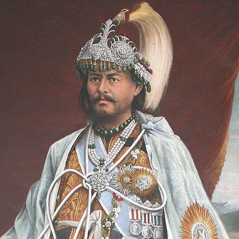 """理表 on Twitter: """"ジャンガ・バハドゥル・ラナ 1816~77 ネパールの ..."""