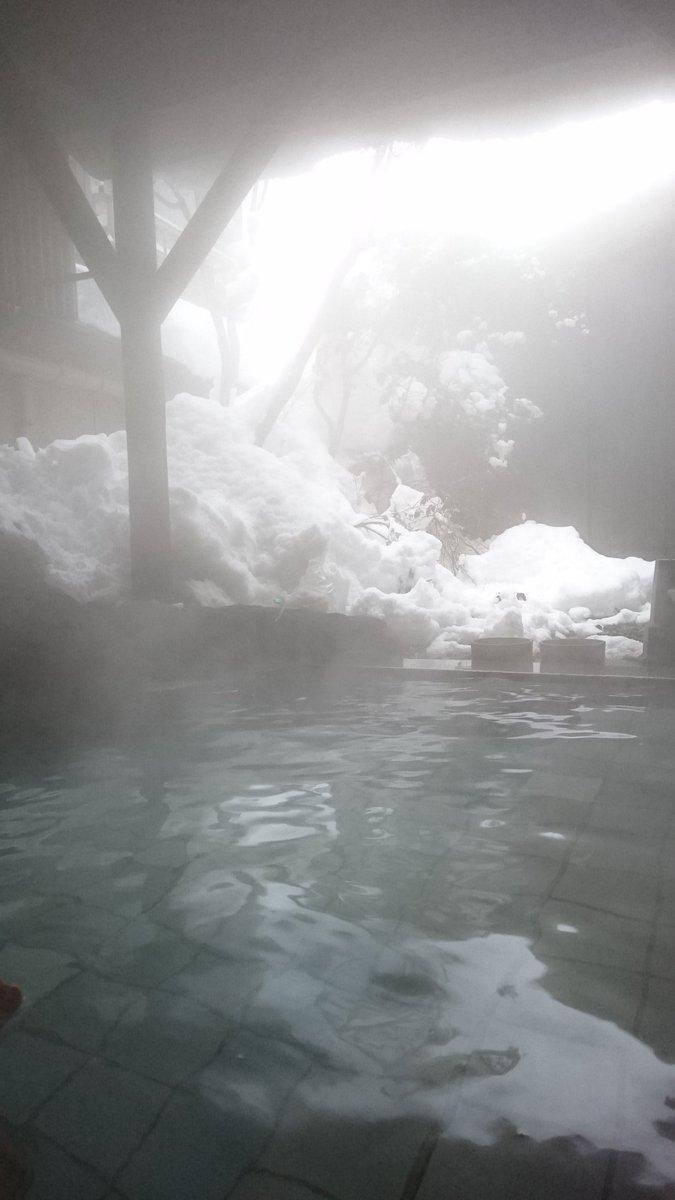 温泉最高😃⤴⤴ #近いよ米沢  #小野川温泉