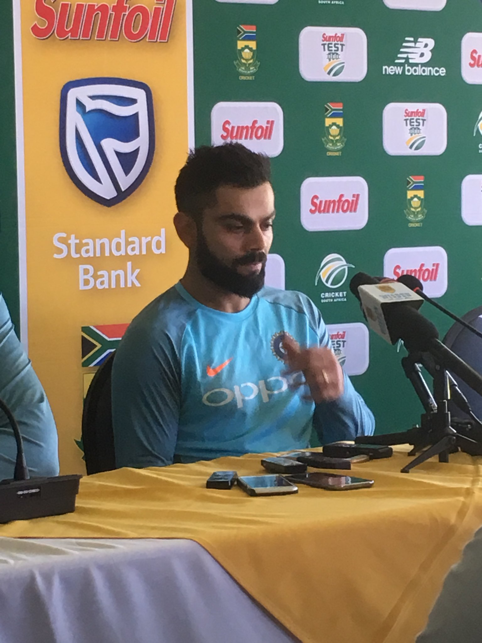 We Believe We Can Win in South Africa- Virat Kohli