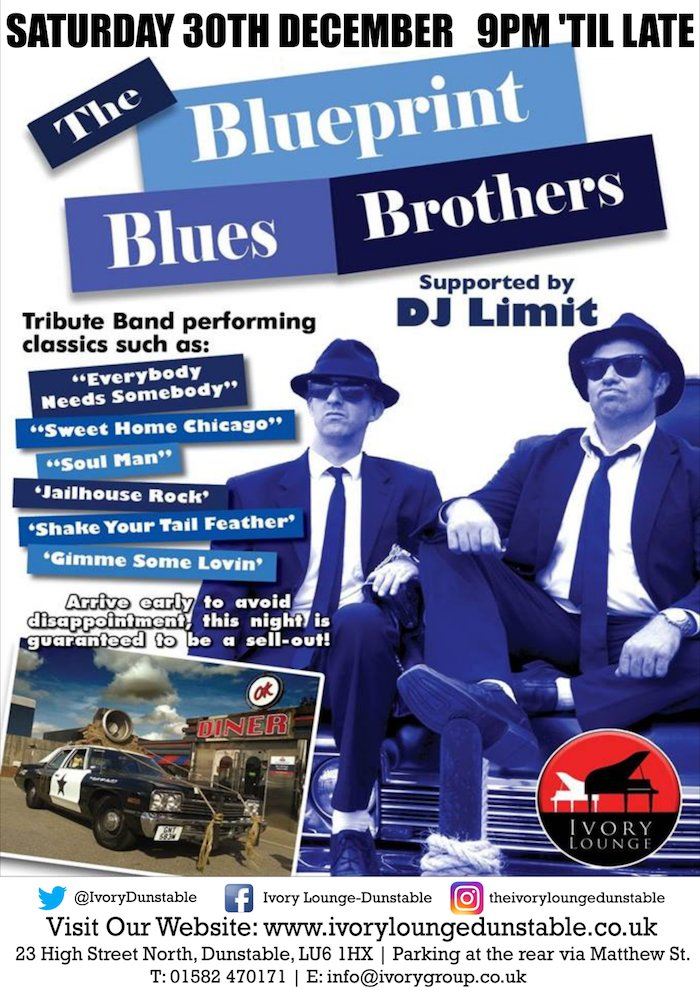 Ivoryloungedunstable on twitter do we have any bluesbrothers tonight blueprint blues brothers are joining us on stage come on down for a singalong see more about them here and check out their videos malvernweather Image collections