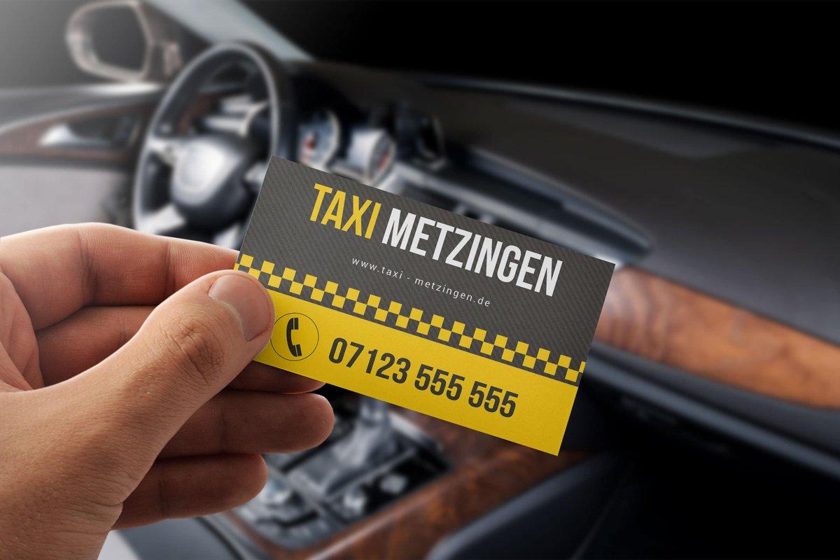 Designbomb On Twitter Taxi Visitenkarte Für Taxifahrer