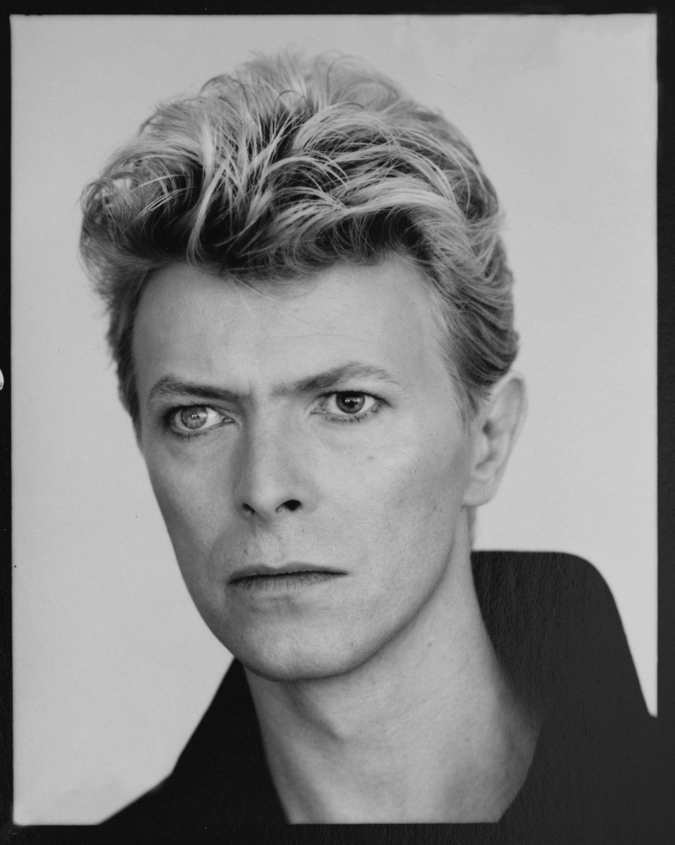 Brian Eno On Twitter David Bowie 1983 By Tony Mcgee